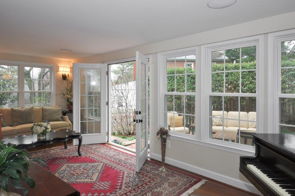 remodeled screened porch